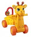 "Игрушка на колесах детская Альтернатива ""Жираф"" желтый М3892"