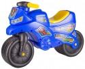 Игрушка на колесах детская Альтернатива Мотоцикл Синий М6787