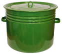 """Бак 40л """"Сибирские товары"""" зеленый рябчик С42833"""