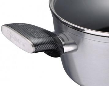 Кастрюля Bergner Carbon TT BG-9233-SL 4.6л