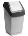 Контейнер для мусора 7л ХАПС Мраморный М2470